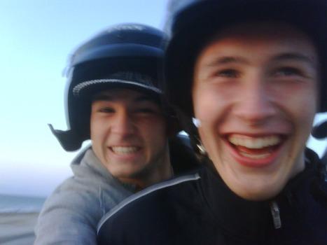 Henri Kontinen and Grigor Dimitrov buggy