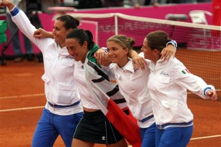 italy fed cup