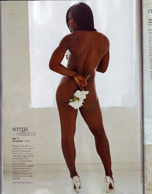 serena williams nude in jane magazine preview