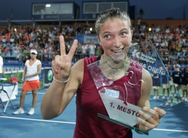 TENNIS-SLOVENIA-WTA-FINAL-ERRANI-GARRIGUES