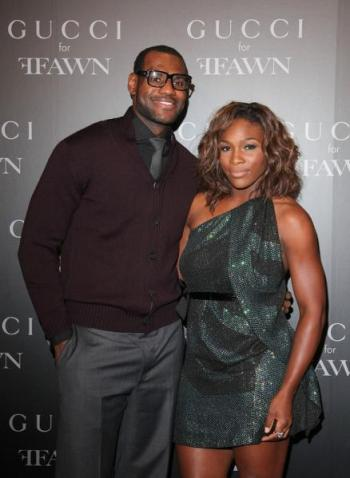 serena lebron james
