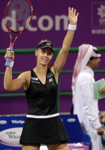 elena dementieva doha day one