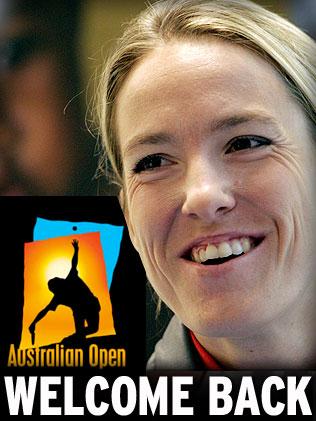 justine henin australian open 2010