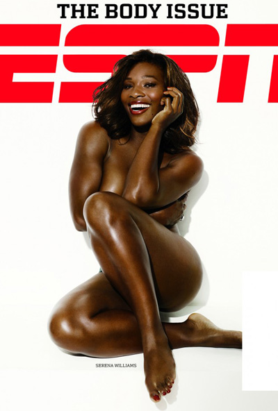 serena williams naked espn