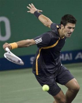 shanghai novak djokovic second round