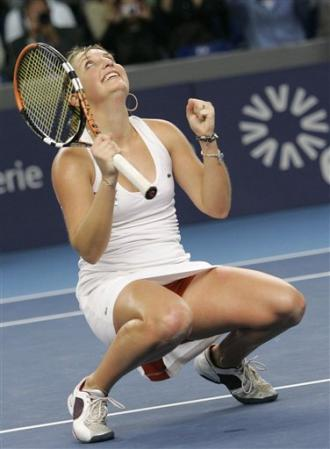 timea bacsinszky luxembourg open celebrates