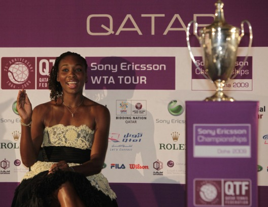 venus williams doha
