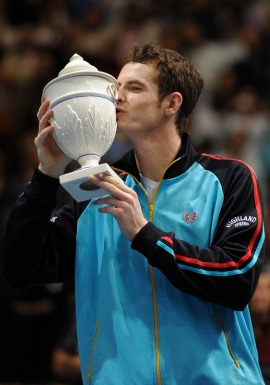 andy murray trophy