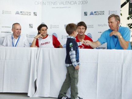 david ferrer juan carlos ferrero small child