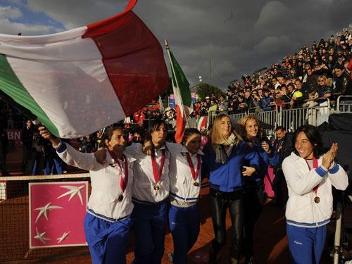 italian victory lap
