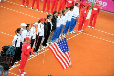 italy and the us line up