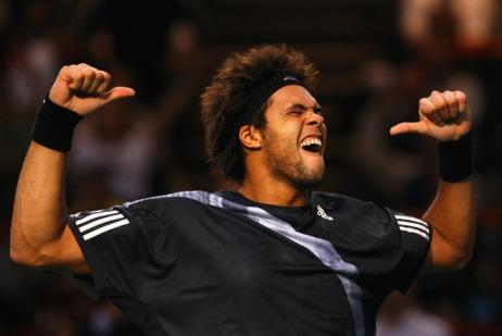 jo-wilfried tsonga paris masters 2009
