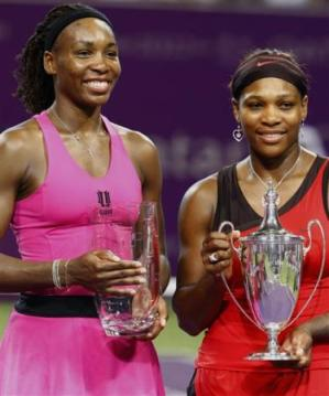 venus serena williams doha 2009