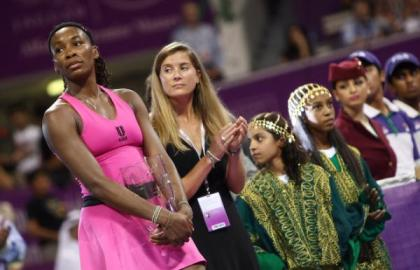 venus williams doha 2009