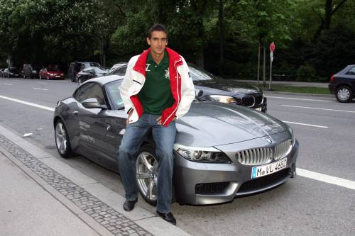 Photo of Marin Cilic BMW Z4 - car