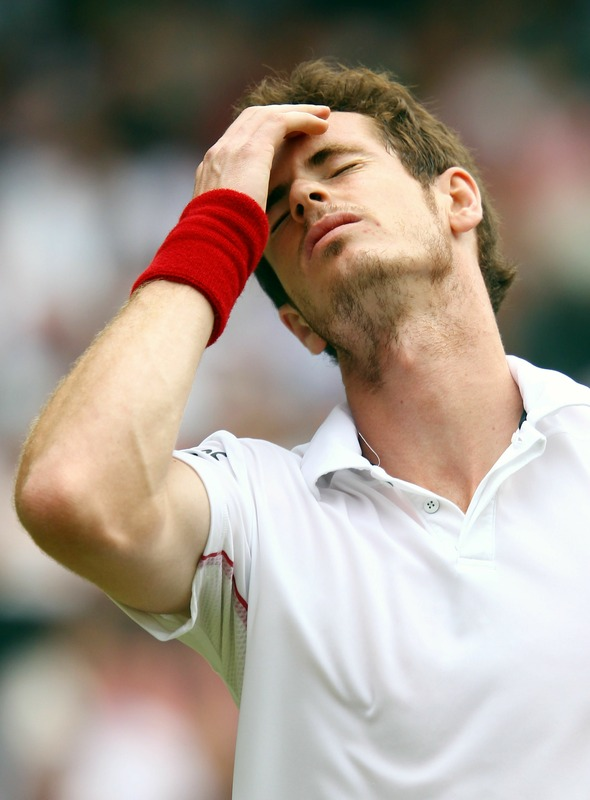 andy murray hair. andy murray muscles.