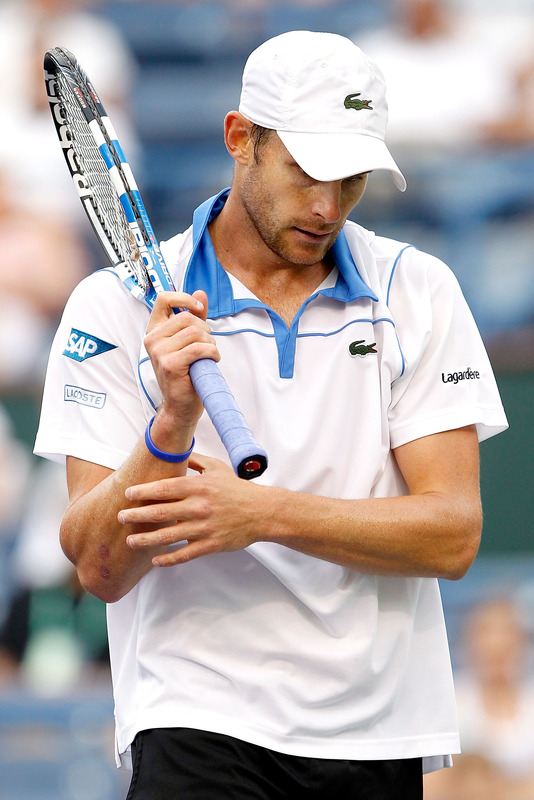 Andy roddick called opponent fucking prick